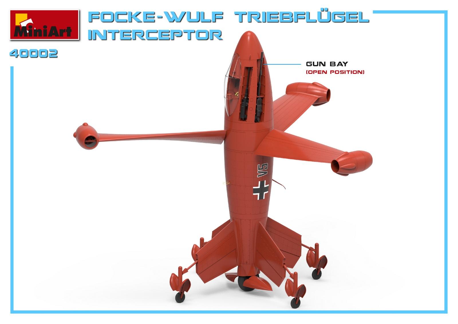 MiniArt-40002-Focke-Wulf-Triebflügel-4 Focke Wulf Triebflügel in 1:35 von MiniArt