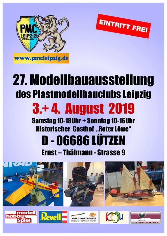 PMC-Leipzig-Ausstellung-2019 Nicht vergessen: Ausstellung PMC Leipzig in Lützen 2019