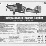 Trumpeter-02880-Fairey-Albacore-Bauanleitung-1-150x150 Fairey Albacore in 1:48  Trumpeter # 02880