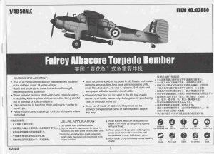 Trumpeter-02880-Fairey-Albacore-Bauanleitung-1-300x216 Trumpeter 02880 Fairey Albacore Bauanleitung (1)