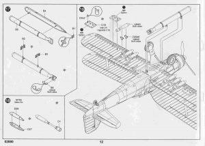 Trumpeter-02880-Fairey-Albacore-Bauanleitung-11-300x214 Trumpeter 02880 Fairey Albacore Bauanleitung (11)