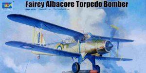 Fairey Albacore in 1:48  Trumpeter # 02880