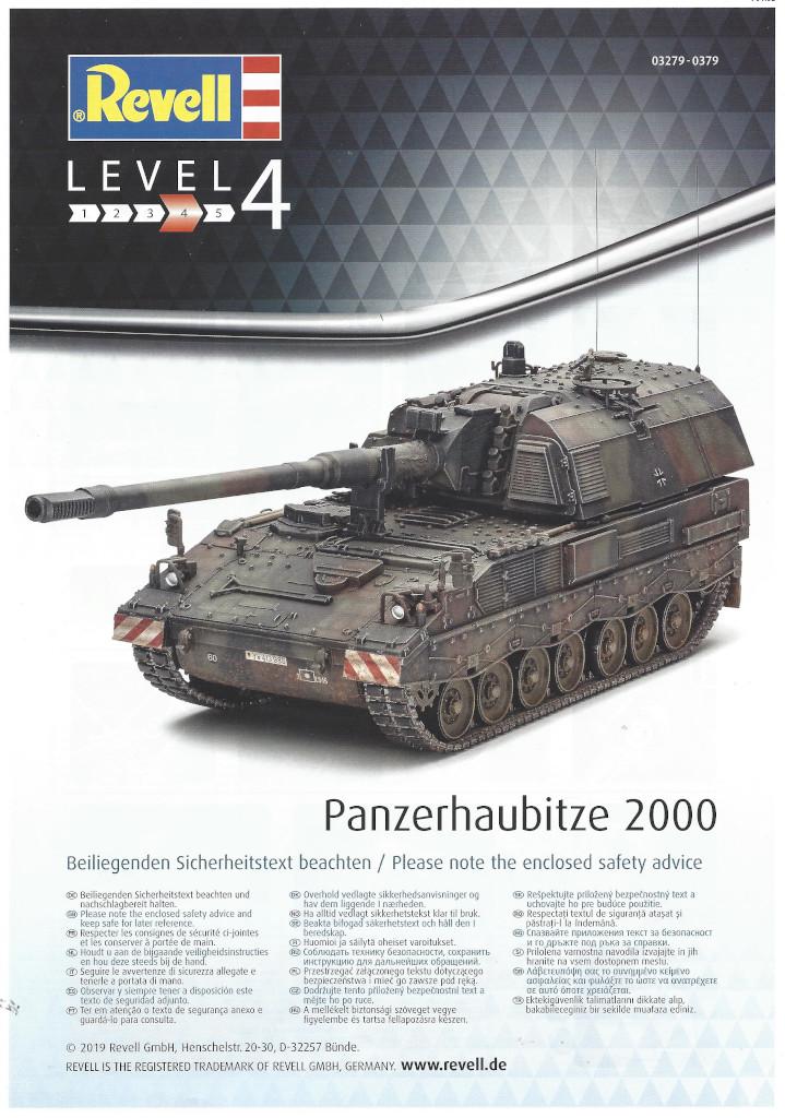 Anleitung01 Panzerhaubitze 2000 1:35 Revell (#03279)