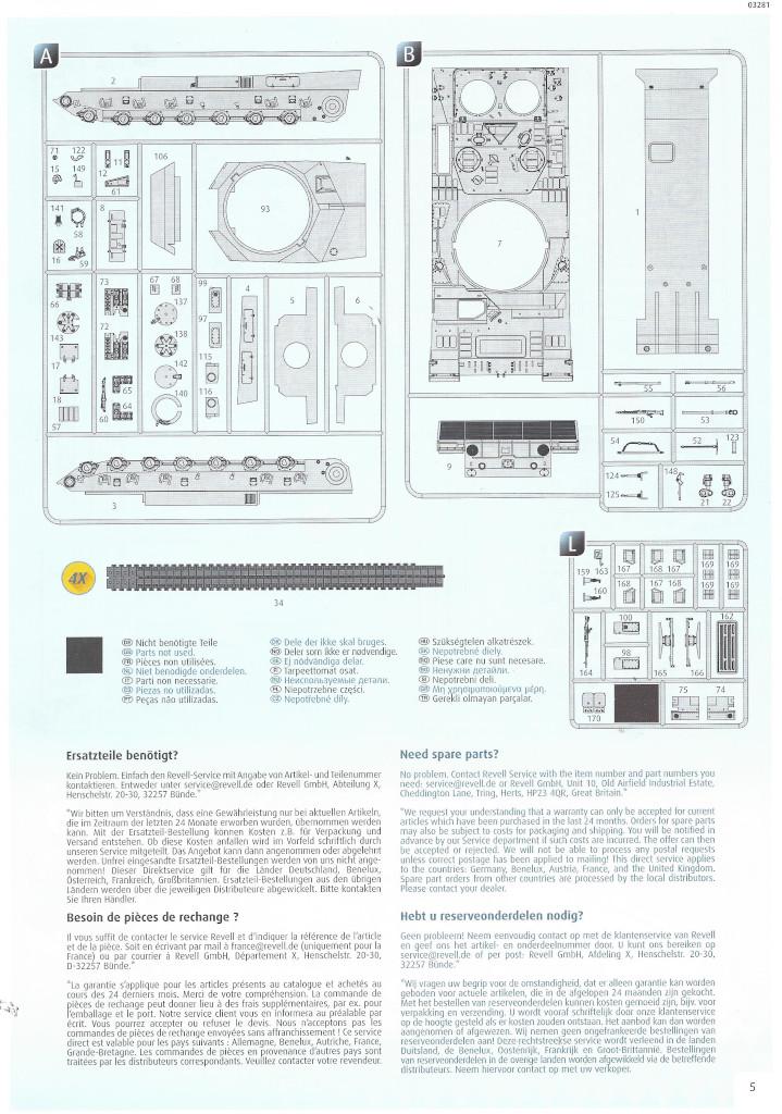 Anleitung05-1 Leopard 2 A6/A6NL 1:35 Revell (#03281)