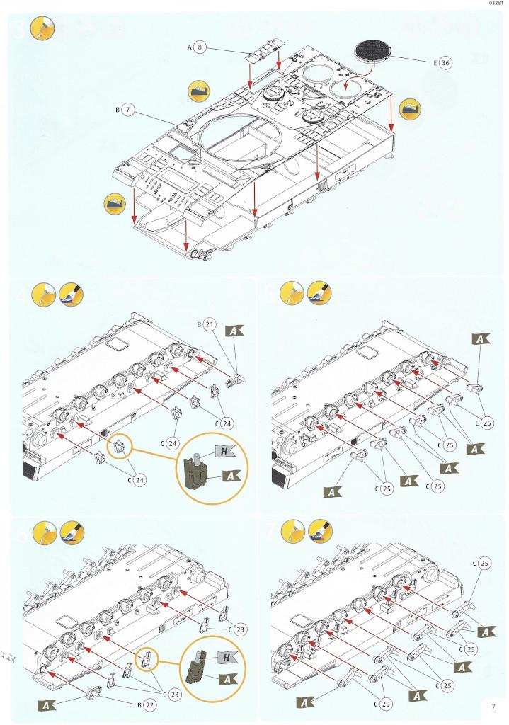 Anleitung07-1 Leopard 2 A6/A6NL 1:35 Revell (#03281)