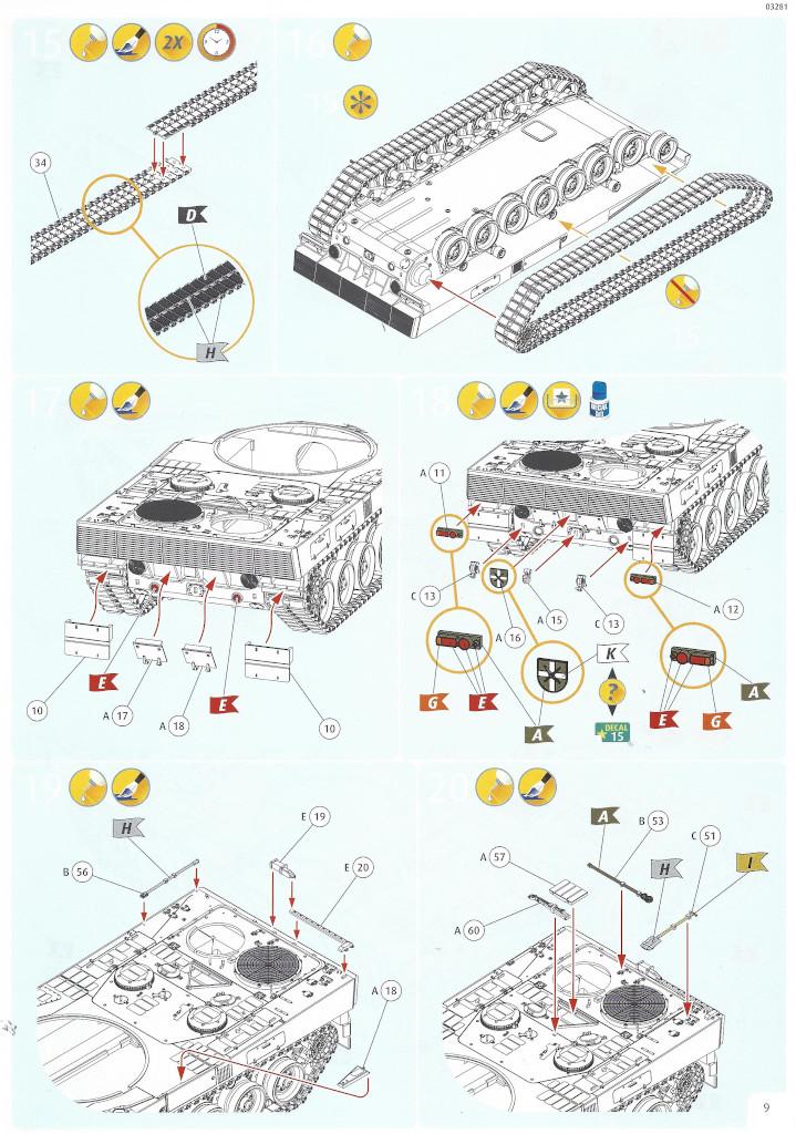 Anleitung09-1 Leopard 2 A6/A6NL 1:35 Revell (#03281)