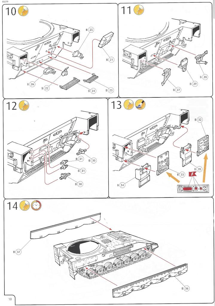 Anleitung10 Panzerhaubitze 2000 1:35 Revell (#03279)
