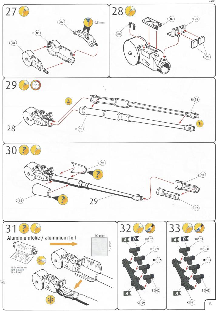Anleitung13 Panzerhaubitze 2000 1:35 Revell (#03279)