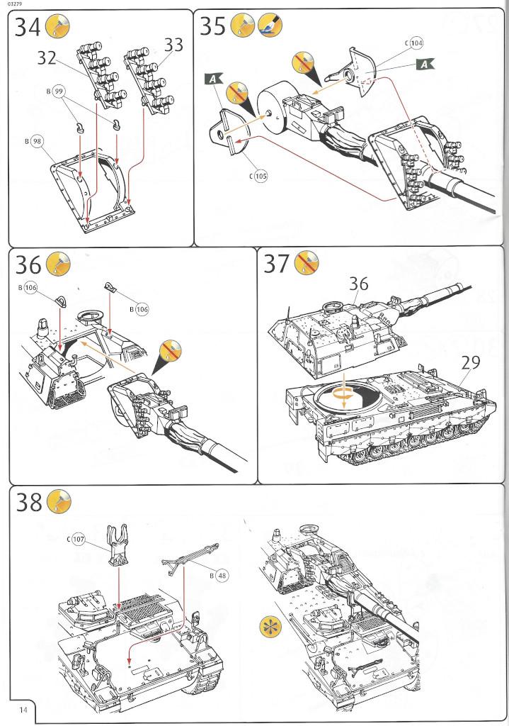 Anleitung14 Panzerhaubitze 2000 1:35 Revell (#03279)