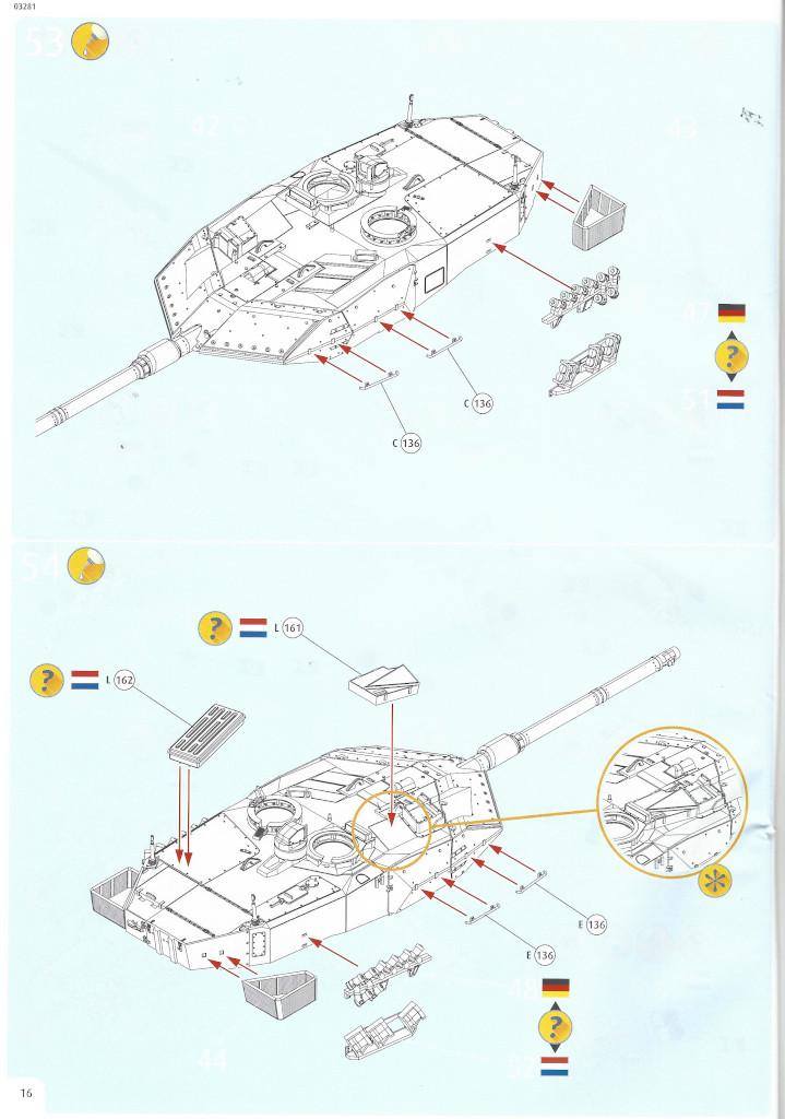Anleitung16-1 Leopard 2 A6/A6NL 1:35 Revell (#03281)