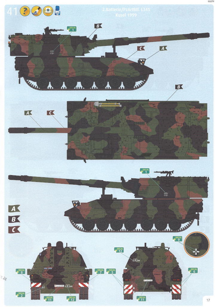 Anleitung17 Panzerhaubitze 2000 1:35 Revell (#03279)