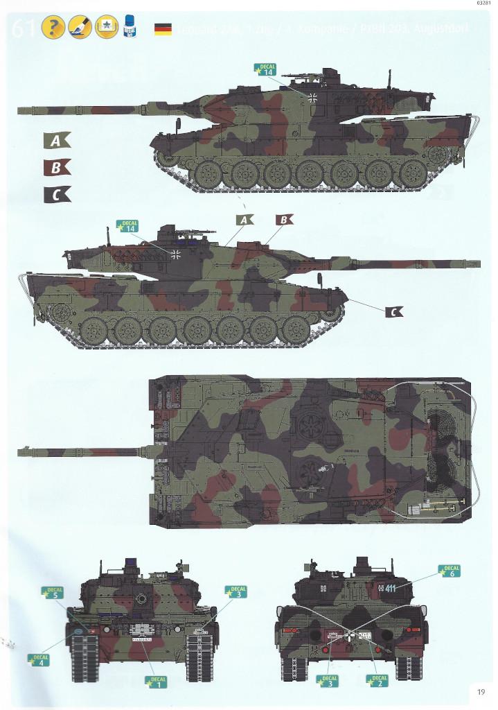 Anleitung19-1 Leopard 2 A6/A6NL 1:35 Revell (#03281)
