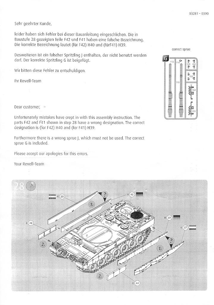 Anleitung21 Leopard 2 A6/A6NL 1:35 Revell (#03281)