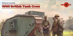 WW I British Tank Crew 1:35 ICM (#35708)