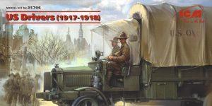 US Drivers (1917-1918) 1:35 ICM (#35706)