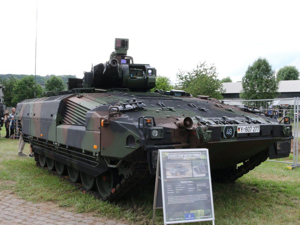 Puma-1024x768 Tag der Bundeswehr in Koblenz 15.06.2019