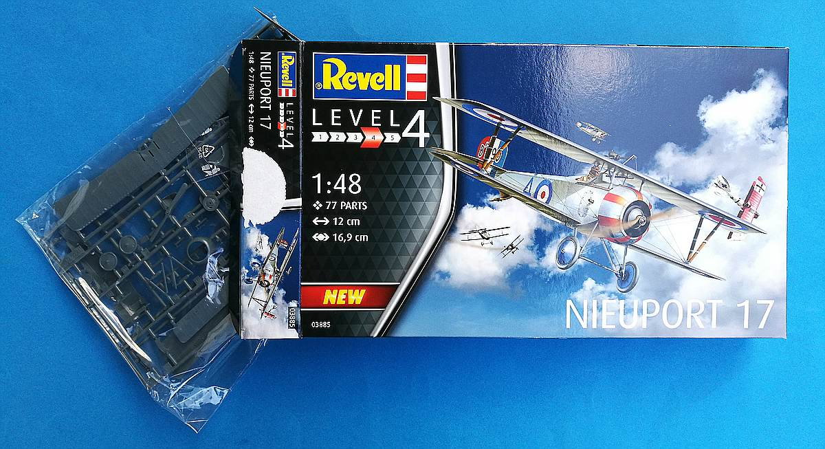 REvell-03885-Nieuport-7-2 Nieuport 17 in 1:48 von Revell 03885
