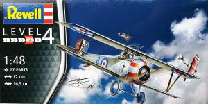 Nieuport 17 in 1:48 von Revell 03885