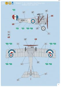 Revell-03885-Nieuport-17-Bauanleitung-Markierungen-4-210x300 Revell 03885 Nieuport 17 Bauanleitung Markierungen (4)