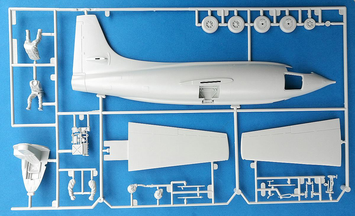 Revell-03888-Bell-X-1-23 Bell X-1 Supersonic Aircraft in 1:32 von Revell 03888