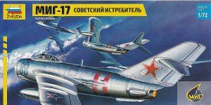 MiG-17 Fresco in 1:72 von Zvezda # 7318