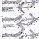 Zvezda-7318-MiG-17-6-150x150 MiG-17 Fresco in 1:72 von Zvezda # 7318