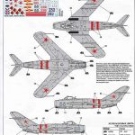 Zvezda-7318-MiG-17-7-150x150 MiG-17 Fresco in 1:72 von Zvezda # 7318
