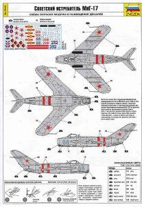 Zvezda-7318-MiG-17-7-207x300 Zvezda 7318 MiG-17 (7)