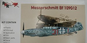 Messerschmitt Bf 109 G-12 Trainer in 1:48 von AMG 48-702