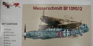 Messerschmitt Bf 109 G-12 Trainer in 1:48 von AMG 48-702