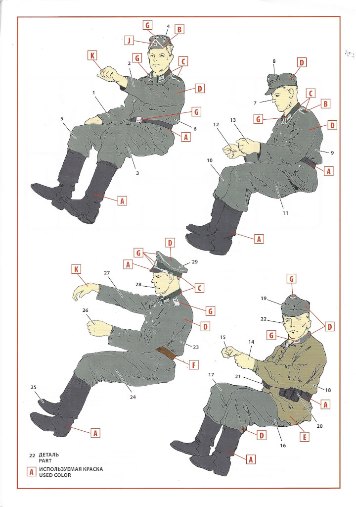 """Anleitung-Drivers-02 Army Group """"Center"""" (Summer 1941) 1:35 ICM (#DS3502)"""