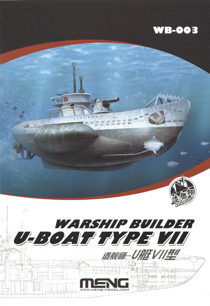 Anleitung01 U-Boat Type VII 1:Egg Meng (#WB-003)
