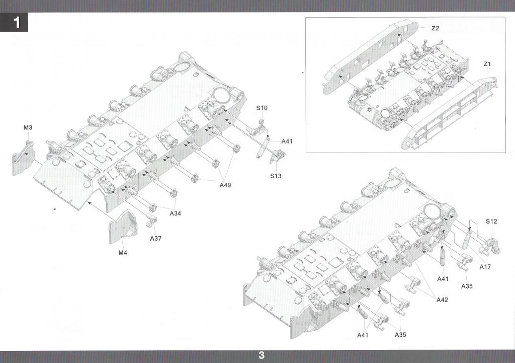 Anleitung04-2 M46 Patton Takom 1:35 (#2117 )