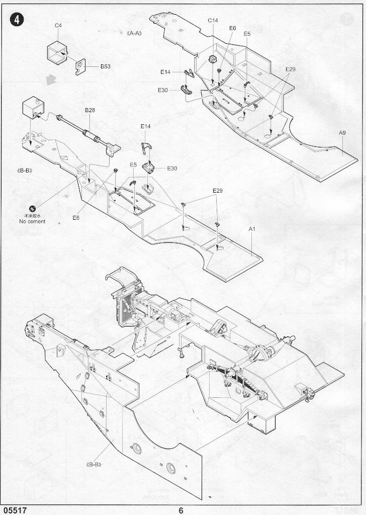 Anleitung05-1 Russian BTR-40 APC 1:35 Trumpeter (#05517)