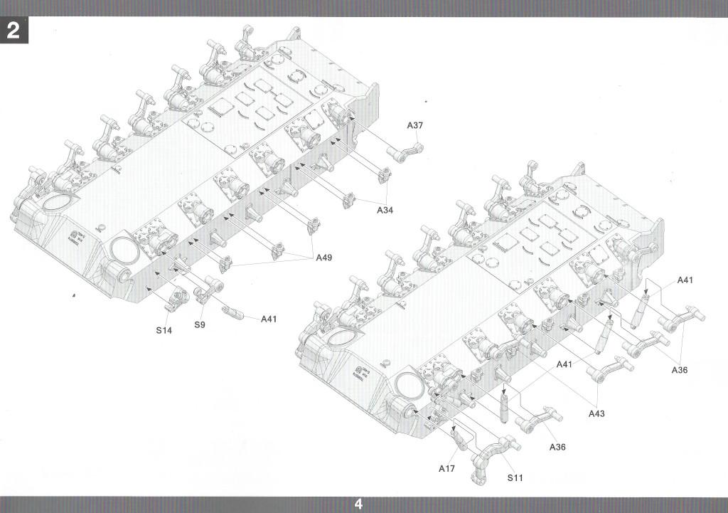 Anleitung05-2 M46 Patton Takom 1:35 (#2117 )