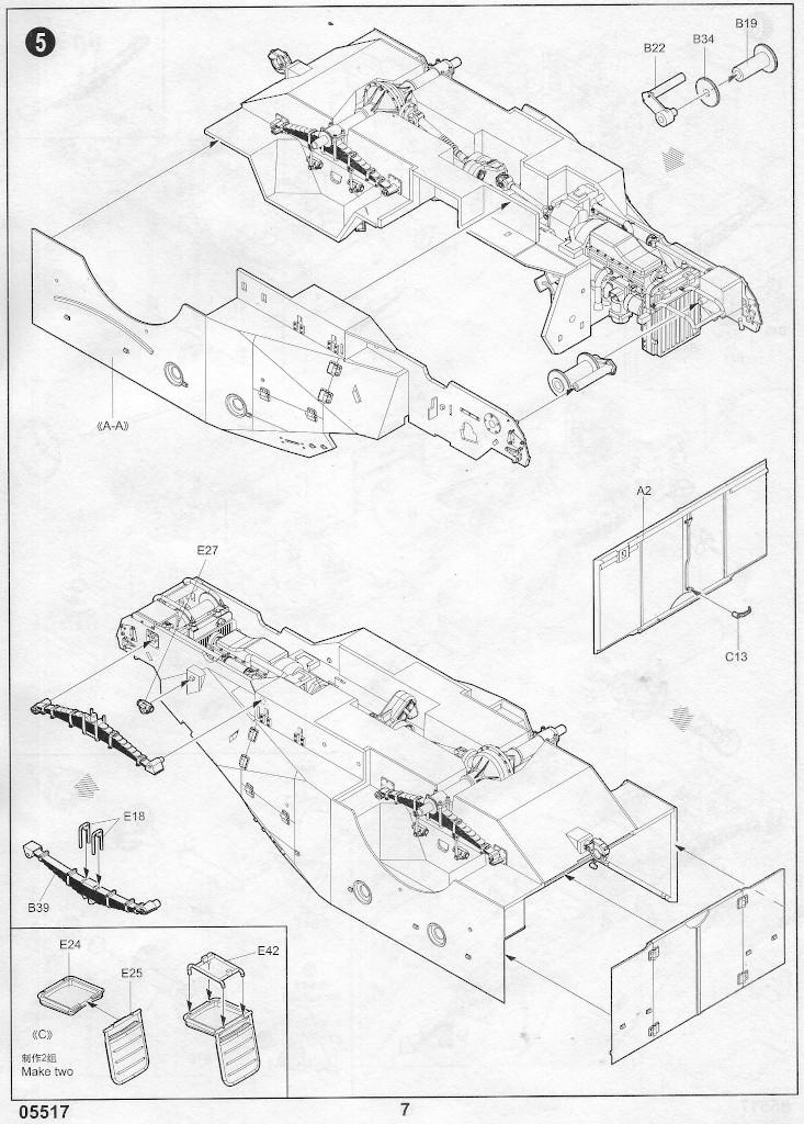 Anleitung06-1 Russian BTR-40 APC 1:35 Trumpeter (#05517)