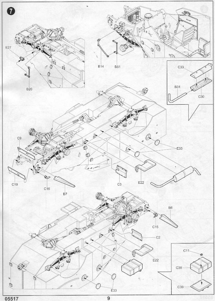 Anleitung08-1 Russian BTR-40 APC 1:35 Trumpeter (#05517)