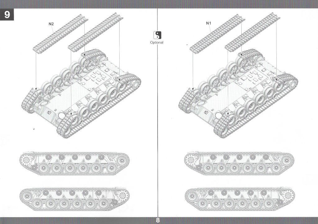 Anleitung09-1 M46 Patton Takom 1:35 (#2117 )