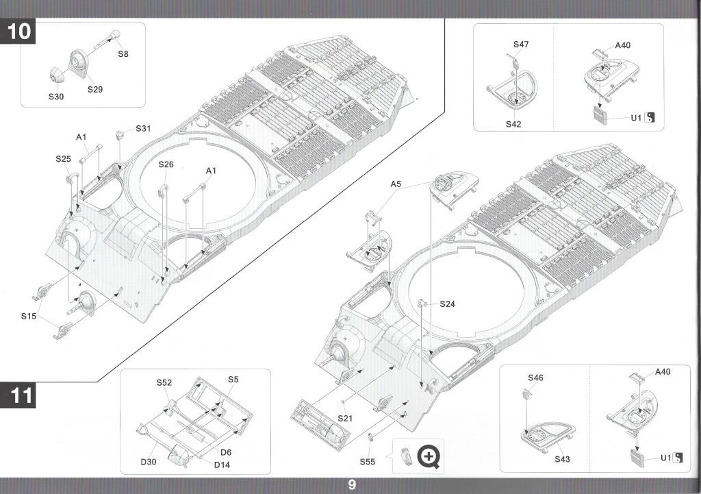 Anleitung10-1 M46 Patton Takom 1:35 (#2117 )