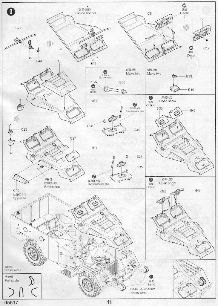 Anleitung10 Russian BTR-40 APC 1:35 Trumpeter (#05517)