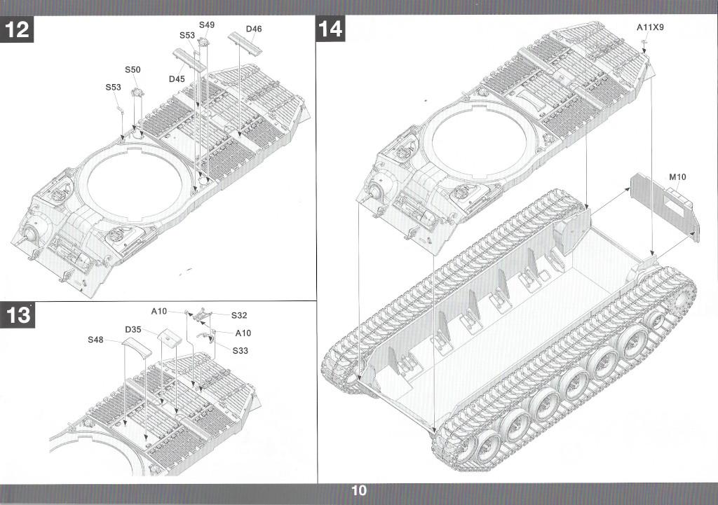 Anleitung11-1 M46 Patton Takom 1:35 (#2117 )