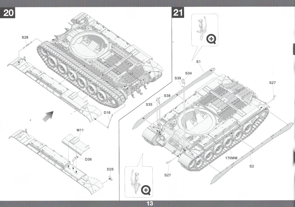 Anleitung14 M46 Patton Takom 1:35 (#2117 )