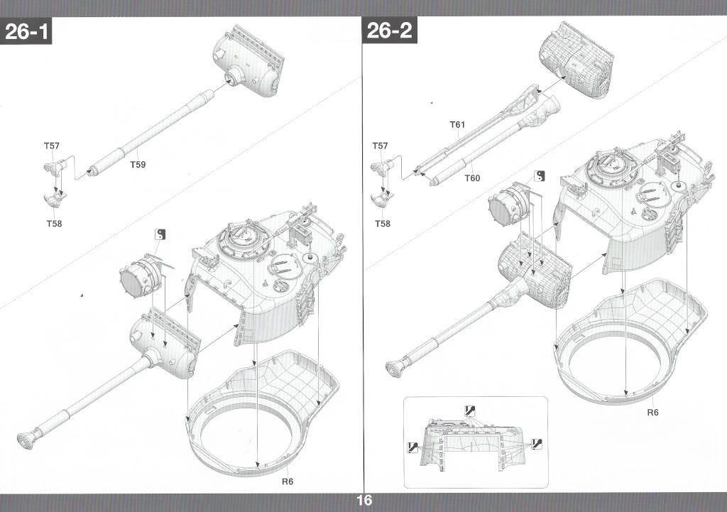 Anleitung17 M46 Patton Takom 1:35 (#2117 )