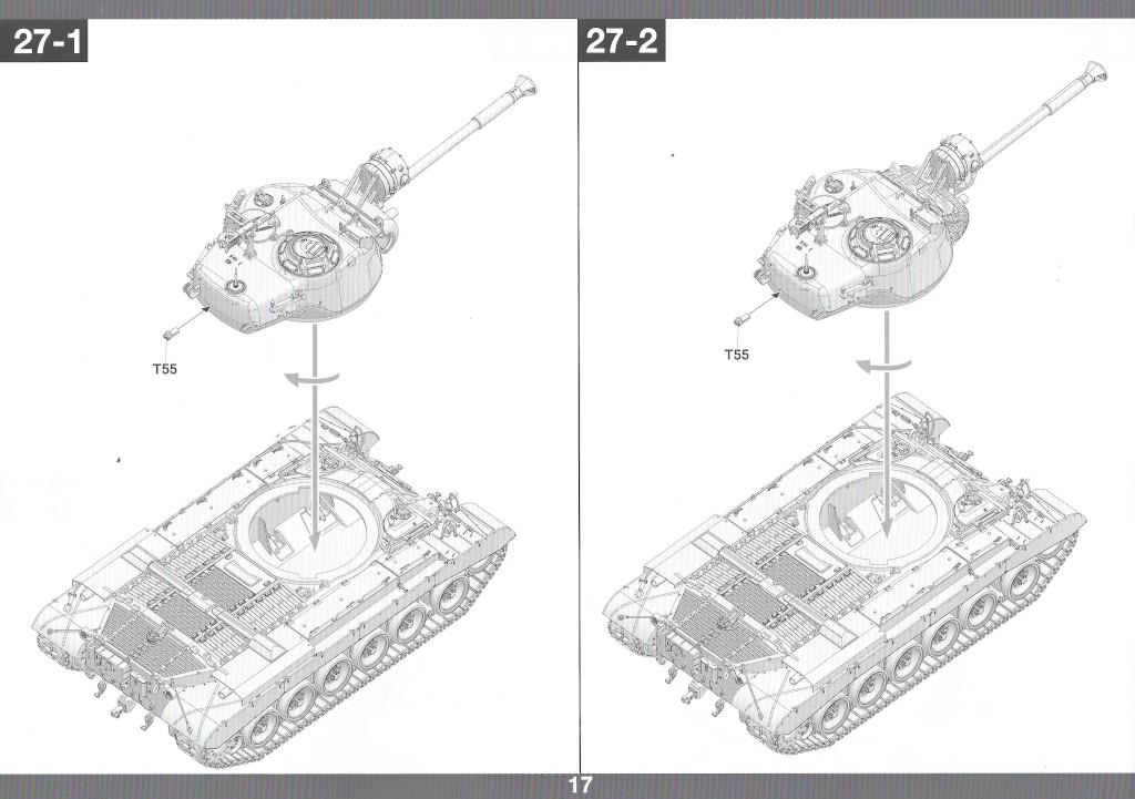 Anleitung18 M46 Patton Takom 1:35 (#2117 )