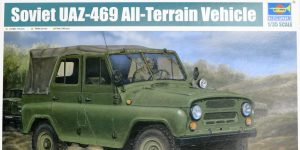 Soviet UAZ-469 All Terrain Vehicle 1:35 Trumpeter (#02327)
