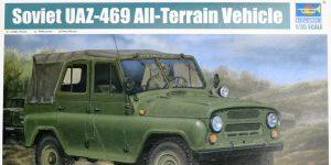 Soviet UAZ-469 All Terrain Vehicle 1:35 Trumpeter (#02327)