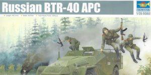 Russian BTR-40 APC 1:35 Trumpeter (#05517)