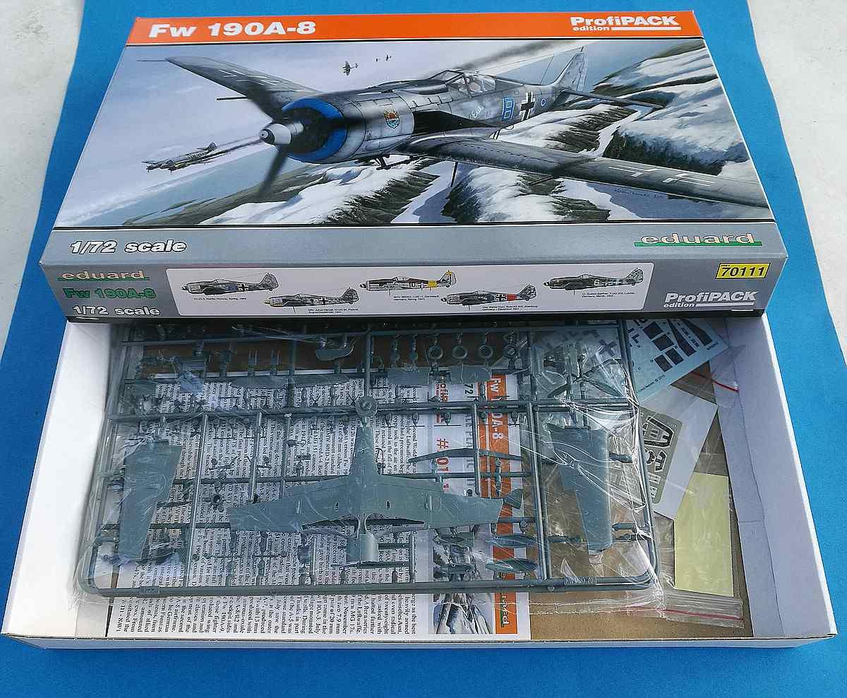 Eduard-70111-FW-190-A-8-ProfiPAck-2 FW 190 A-8 PROFIPACK in 1:72 von Eduard 70111