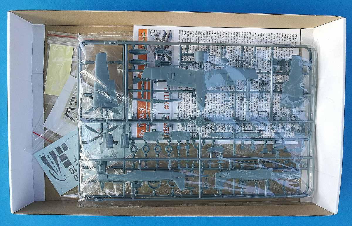 Eduard-70111-FW-190-A-8-ProfiPAck-3 FW 190 A-8 PROFIPACK in 1:72 von Eduard 70111
