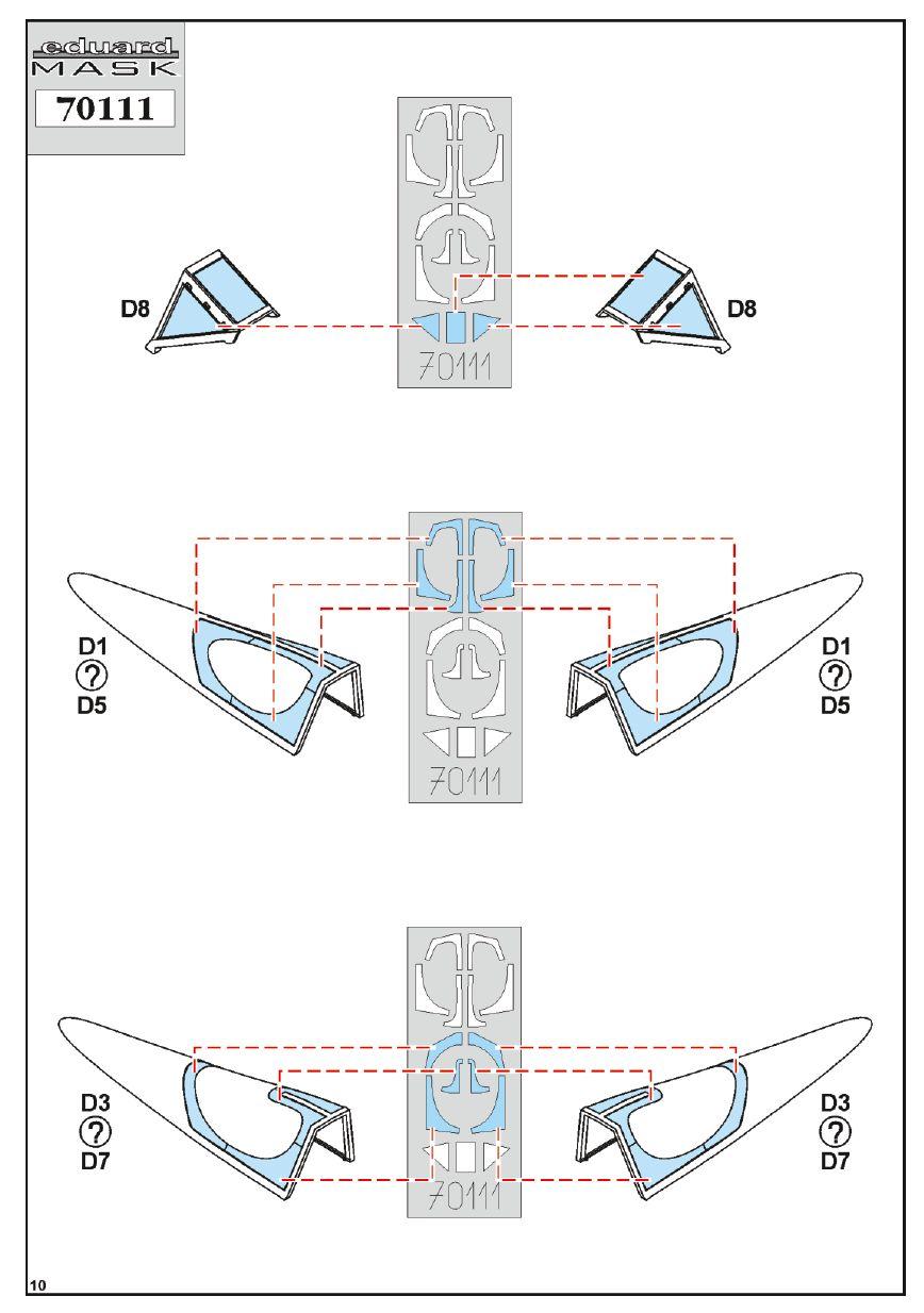 Eduard-70111-FW-190-A-8-ProfiPack-Bauanleitung-9 FW 190 A-8 PROFIPACK in 1:72 von Eduard 70111